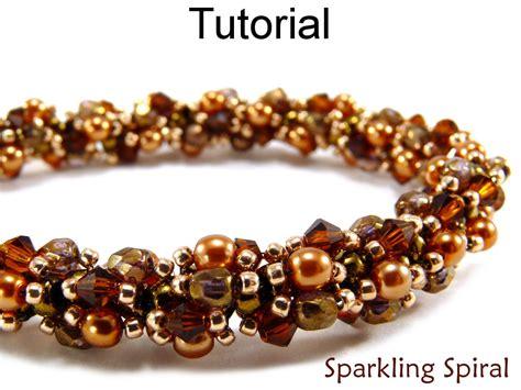 spiral beading beading tutorial pattern bracelet necklace spiral