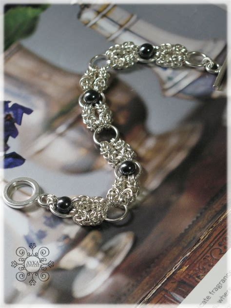 silver jewelry classes handcrafted silver chainmail jewelry ayka jewelry