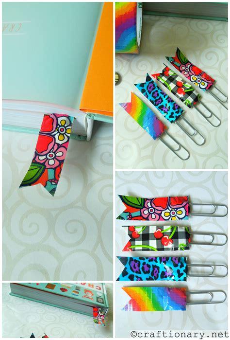 bookmark craft ideas for diy duct ideas make simple crafts bookmark ideas