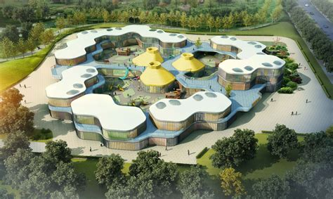Kids Playrooms guan kindergarten wax architects