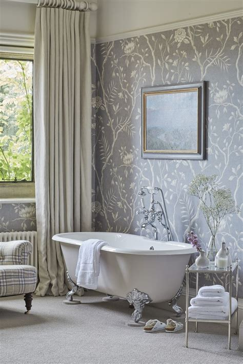 wallpaper in bathroom ideas how to decorate bathroom wallpaper safe home inspiration