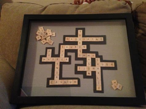 scrabble letter frames 20 best images about stuff for home on baby