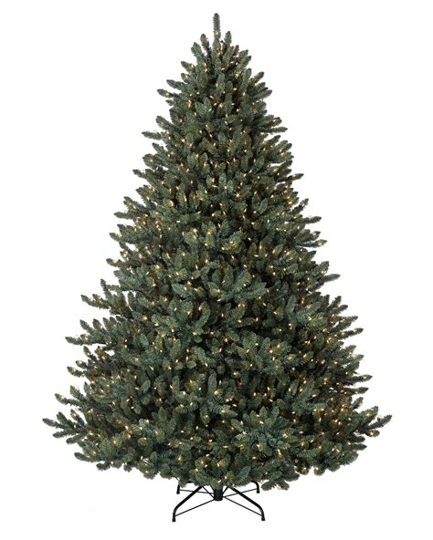 where to buy balsam hill trees 9 ft led pre lit blue noble spruce artificial