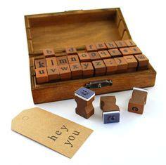 alphabet rubber st set wooden rubber st set alphabet st set vintage