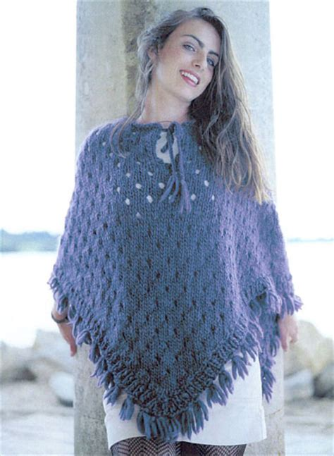 knitted ponchos knitted poncho knitting pattern buy instantly 163 1 95