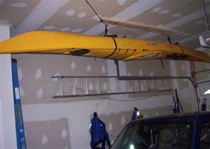 Garage Storage Kayak Ceiling Kayak Garage Storage Ideas Home Interiors