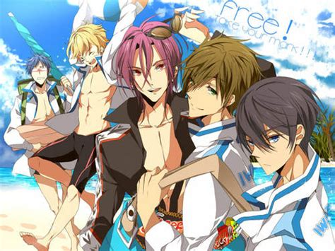 free anime free iwatobi swim club