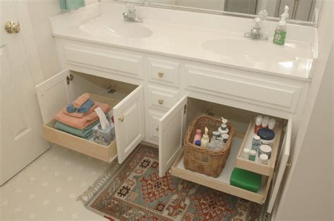 bathroom cabinet pull out shelves bathroom pull out shelves other by shelfgenie of san