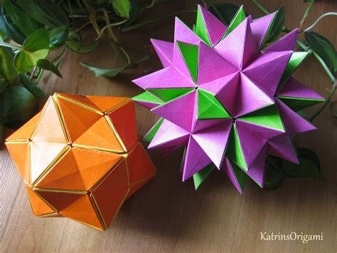 how to make a origami spike step by step origami revealed flower popup