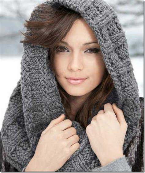 infinity scarf knit pattern free poncho patterns hairstyle 2013