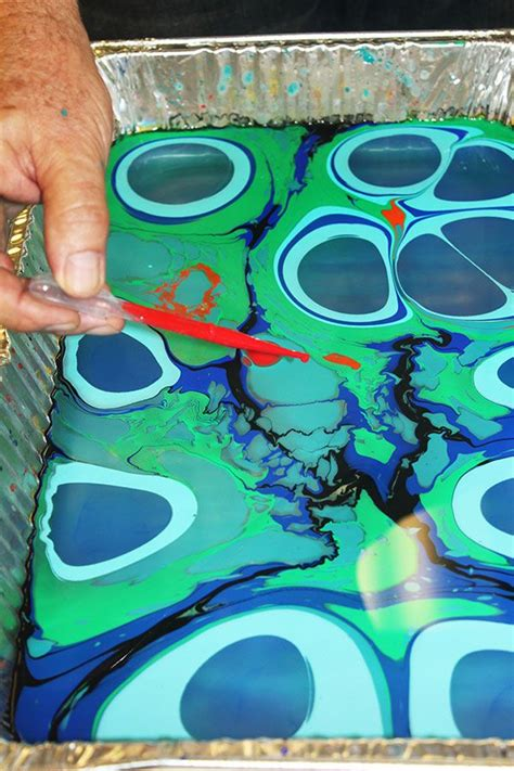 acrylic paint water marbling 25 best ideas about marble painting on marble