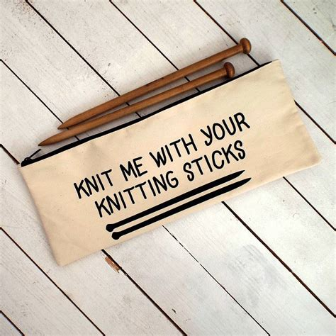 zippered knitting needle knit me knitting needle zipper bag by connor