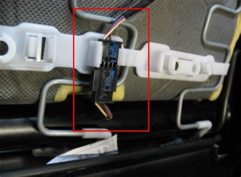 how do i change passenger seat airbag sensor 1 series e87 passenger airbag seat mat occupancy sensor emulator bypass