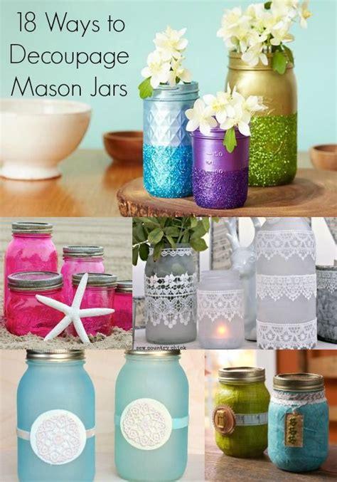 how to make decoupage waterproof 17 best ideas about decoupage jars on