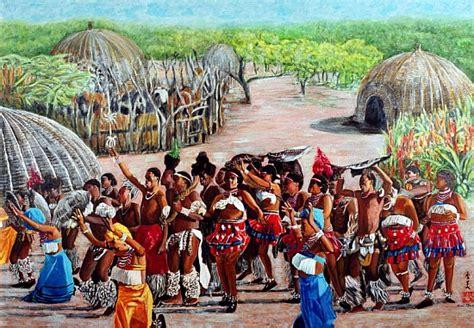 zulu painting zulu celebration 1989 gouache on rice komi chen as