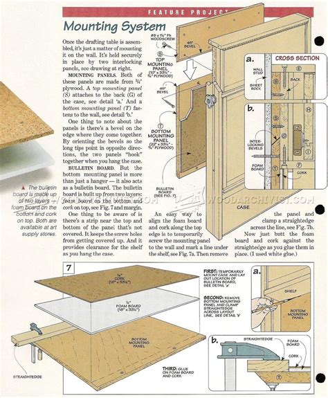 drafting table woodworking plans drafting table design plans pdf diy diy drafting table