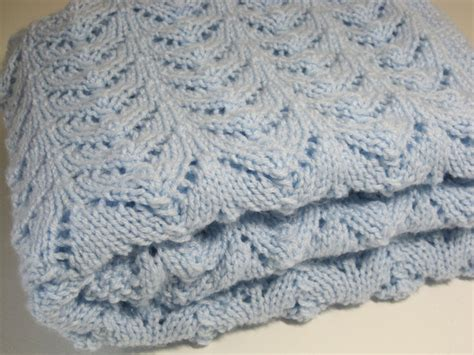 knit baby boy blanket newborn knitted baby blanket baby boy vintage
