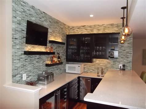 Houzz Home Design Kitchen basement bar 1 modern wine cellar dc metro by