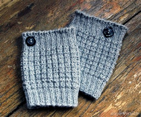 knitted boot cuffs easy knit boot cuffs simply notable