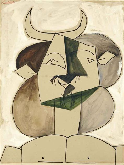 picasso paintings owners pablo picasso le faune 224 moustache 1946
