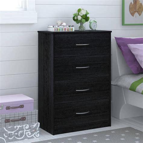 chest bedroom furniture 4 drawer dresser chest bedroom furniture black brown white