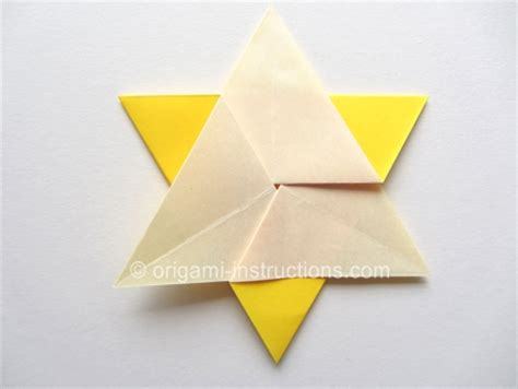 origami of david origami folding how to fold an
