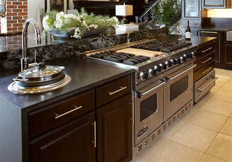 kitchen islands with stove island cabinets kabco kitchens