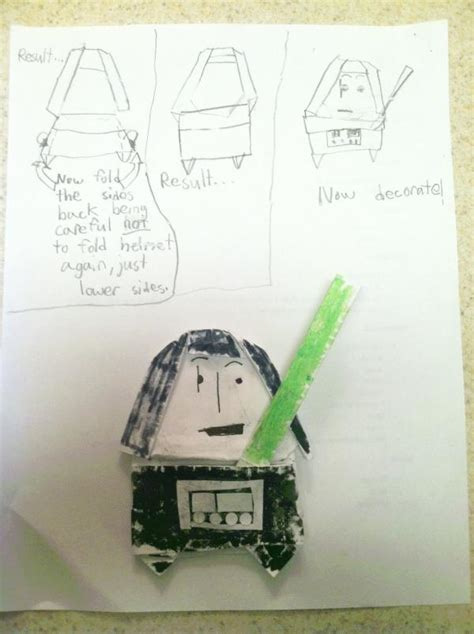 how to fold origami anakin skywalker darth vader search results origami yoda page 10