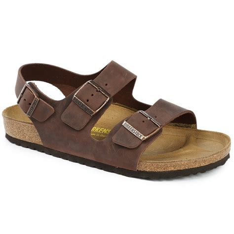 sandals with birkenstock leather soft footbed sandals evo