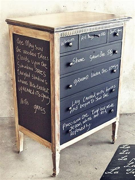 chalk paint it chalkboard paint furniture home