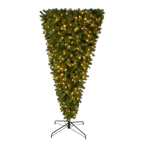 tree led pre lit home accents 7 ft pre lit led wesley spruce