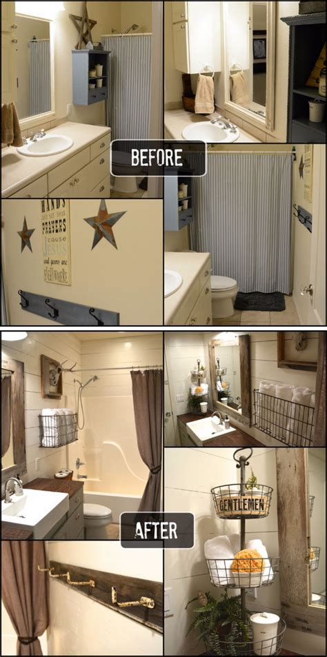 Before And After Small Bathroom Makeovers by Before And After 20 Awesome Bathroom Makeovers Hative
