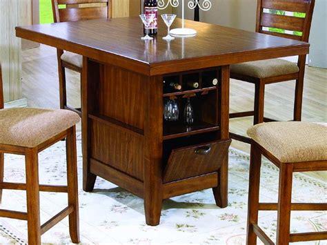 storage kitchen table kitchen counter height kitchen tables with storage