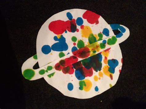 planet crafts for craft planet splatter ink space splatter