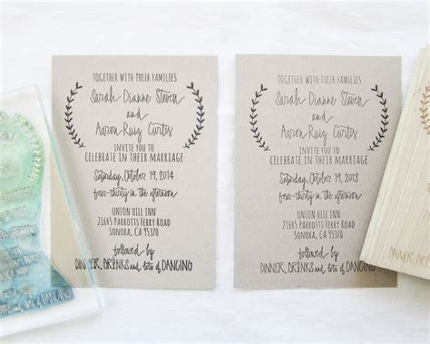 custom rubber sts for wedding invitations clear sts vs rubber sts papersushi