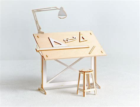 drafting table definition miniature drafting table model kit with real wood tabletop