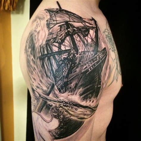 1000 ideias sobre tatuagem de navio de pirata no