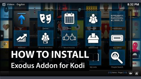 5 add ons exodus add on kodi xbmc how to install exodus on kodi