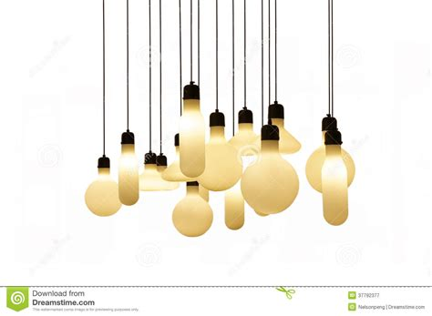 white hanging lights hanging lights isolated on white background royalty free