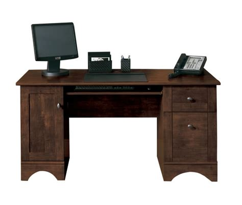 small desk computer solid wood computer desk with several drawers an option
