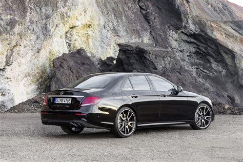 Mercedes Amg by New 2017 Mercedes Amg E43 Sedan Brings A 396hp Bi Turbo V6