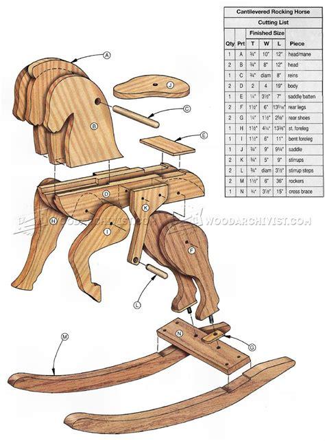 rocking woodworking plans rocking wood plan image mag
