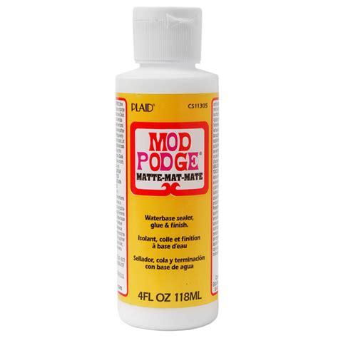 how to decoupage with mod podge mod podge 174 matte