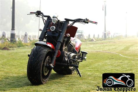 Modified Bike Goa by With Dummy V From Indian Chopper 350cc