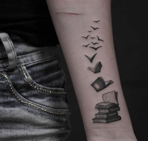 book tattoos pictures 40 amazing book tattoos for literary wings