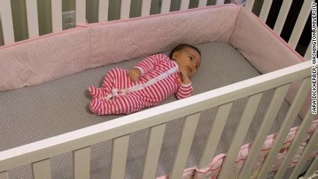 how baby in crib stop using crib bumpers doctors say cnn