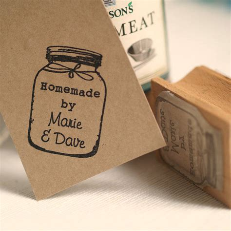 Personalised By Jar Rubber St By Pretty