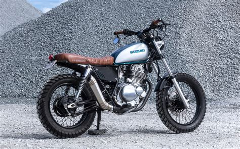 Suzuki Gn 250 by Suzuki Gn250 Scrambler By Purpose Built Moto Bikebound