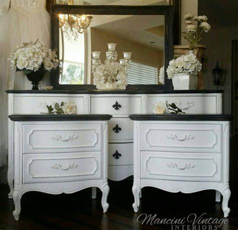 painted provincial bedroom furniture provincial glam boudoir bedroom set black and white