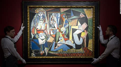 picasso paintings sold at auction pablo picasso s les femmes d alger the most expensive